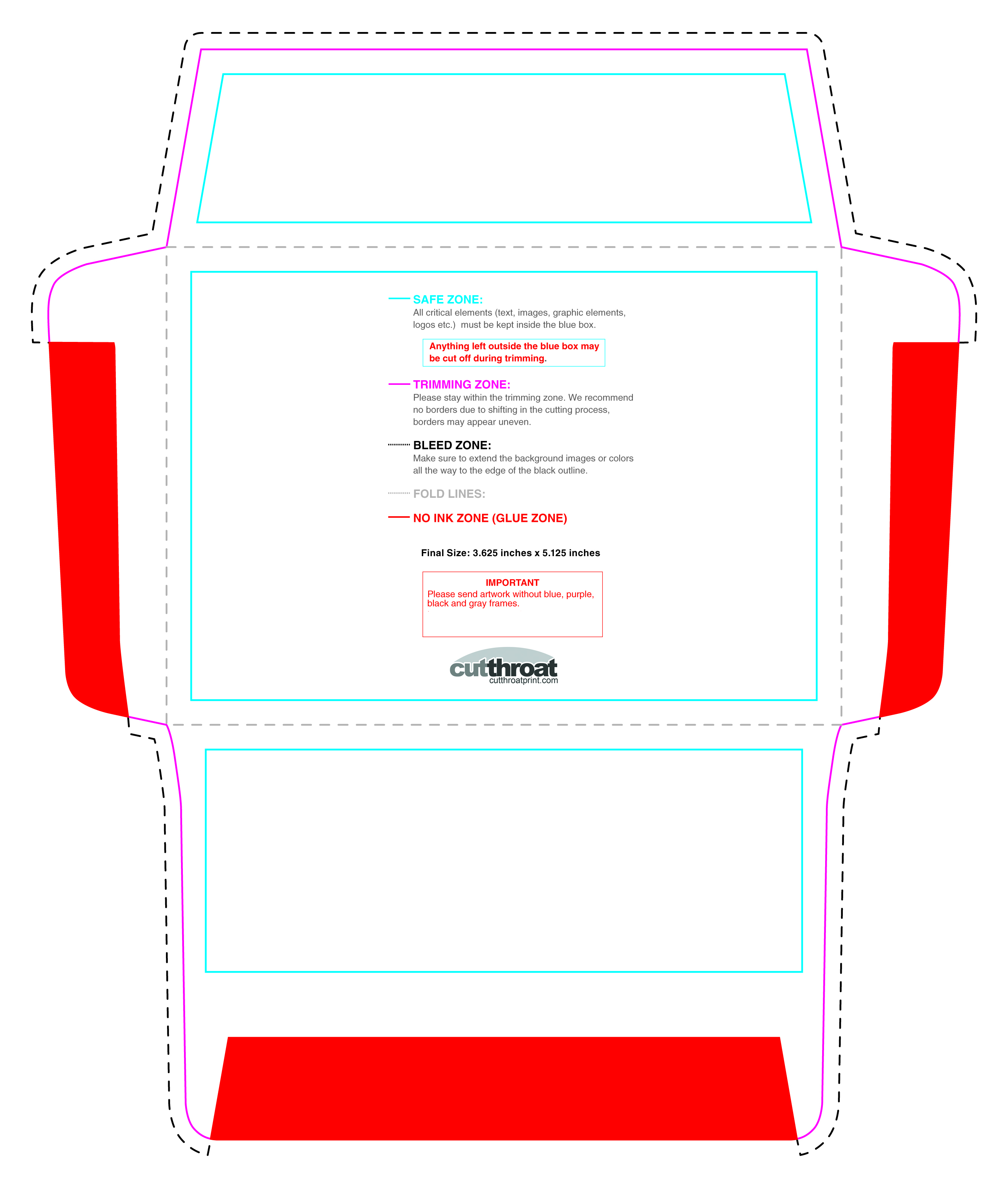 Cutthroat printcustom printed envelopes with free shipping a 2 invitation 5754375 stopboris Gallery