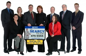 Jeremy & Jess with The Searcy Team, HOME Real Estate in Lincoln, 2005
